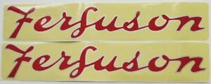 196129m1 New Massey Ferguson Tractor Hood Decal Set F40