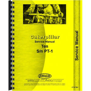 For Caterpillar 10 Tractor Operators Manual new