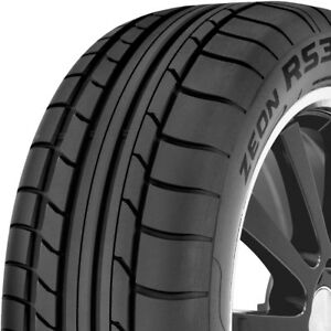 2 New 225 50 17 Cooper Zeon Rs3 s Summer Performance Tires 225 50 17
