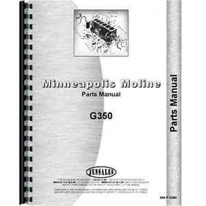 White 18295 Tractor Parts Manual