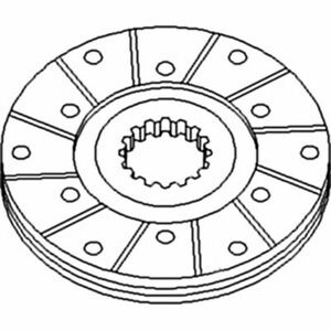 Belarus Tractor Part 503502040a Brake Disc 7 Size