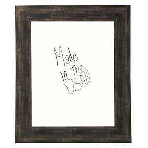 American Made Rayne Brushed Classic Brown Dry Erase Board