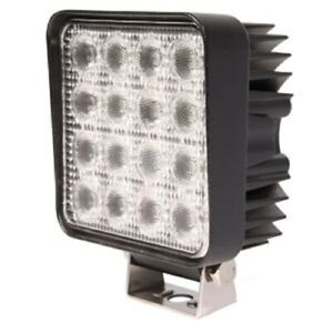 Wl981 New Led Square Work Lamp 10 30 Volt Dc 3 Watt Diodes
