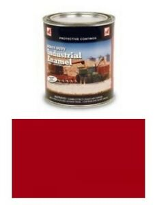 One 1 Quart Of Ford Vermillion Red Paint 8n Naa 600 700 800 900 2000 Tractor