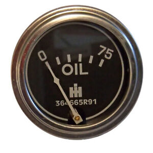 Oil Pressure Gauge For Case Ih Tractor Cub Lo boy 580b 580c