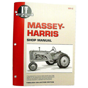 Mh2 I t Shop Manual For Massey Harris 20 Pony 30 22 101 44