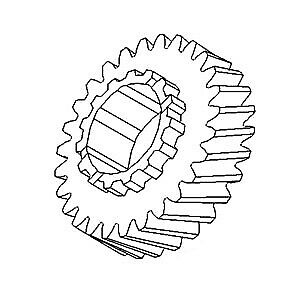 70246531 2nd Gear For Allis Chalmers Ac Tractor Models 180 185 190 190xt 200