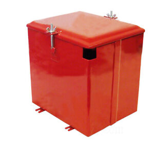 Deluxe Painted Battery Box For Farmall International Tractor Superac 350634r91