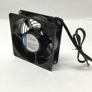 Ebm papst 4800z Tube Axial Compact Fan Metal Housing 115vac 1800rpm 61 6cfm