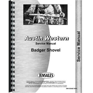 New Austin Western 5801 Industrial construction Service Manual