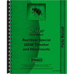 New Oliver 28x46 Thresher Parts Manual