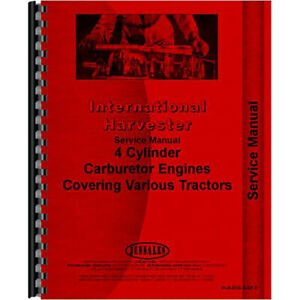 New International Harvester 350 Tractor Service Manual