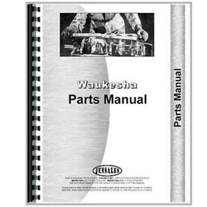 Waukesha 145 Hk Engine Parts Manual