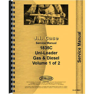 Case 1835c Tractor Service Manual