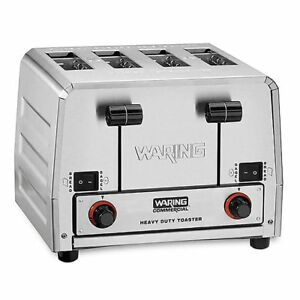 Waring Commercial Wct850rc 120v Heavy duty Switchable Toaster
