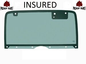 Yj 87 95 Jeep Wrangler Back Glass Liftgate Lift Tail Gate Hard Top Rear Window