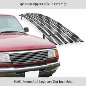 Fits 1993 1997 Ford Ranger 2wd Only Main Upper Phat Billet Grille
