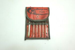Snap on 6 Piece Terminal Kit In Case Set Number Tt600 Made In Usa