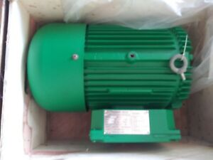 7 5 7 1 2 hp 220 V Single Phase 3450 Rpm Tefc New Electric Motor