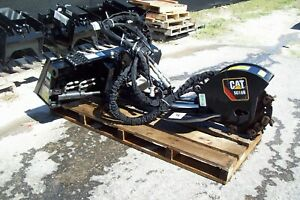 Cat Sg18b Stump Grinder Attachment hi Flow 2017 set Up With 7 Pin Harness