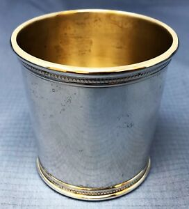 Mark J Scearce Richard M Nixon Rmn Sterling Silver Mint Julep Cup 2 3 4