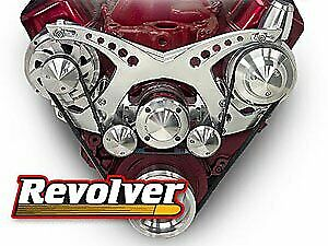 March Performance 23100 07 Revolver Serpentine Drive Kit Big Block Chevy Billet