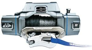 Superwinch S102734 Exp Series Winch Rated Line Pull 8 000 lb Series Wound Motor