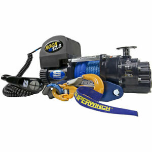Superwinch 1612221 Talon Series Rock 12 8 Winch Rated Line Pull 12 800 lb 6 0 H