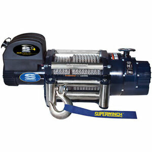Superwinch 1618300 Talon Series Winch Rated Line Pull 18 000 lb 6 Hp Motor Free