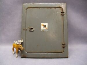 Electric Service Front Panel 6614 General Switch Co Od 9 3 4 W X 11 3 4 T