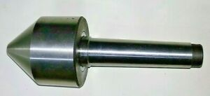 Mt3 Bull Nose Live Revolving Tube Center Morse Taper Capacity From 12mm To 62mm