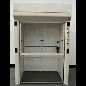 Thermo Science Chemical walk in Floor Fume Hood Used Fisher Hamilton 5