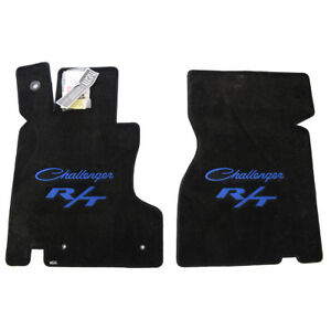 1970 1971 Dodge Challenger Classic R T Floor Mats Embroidered Logos 32oz 2ply