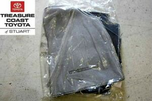 New Toyota Highlander Gray 3 pc Floor Mats And Clips