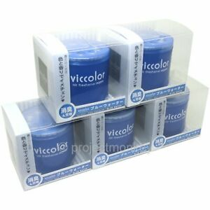 Viccolor Air Freshener Blue Water X 5 Automotive Car Fragrance Scent Diax Jdm