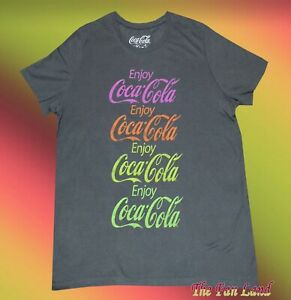 88e936c3dd6dfe New Coca Cola Enjoy Coke Vintage Womens Juniors T-Shirt