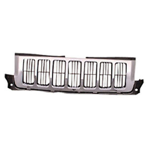 Replacement Chrome Grille For 2011 2012 2013 Jeep Grand Cherokee