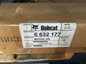 6632177 Bobcat Hydraulic Drive Motor 440 443 450 453 Loader Oem Genuine Part