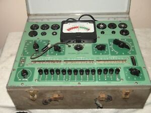 Sylvania Tube Tester For Parts Or Repair