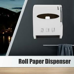 Wall mounted Paper Towel Holder Roll Dispenser For Bathroom Commercial Home Use