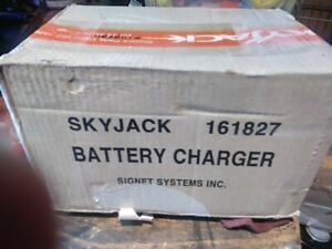 New Skyjack 161827 128537 129720 Signet Scissorlift Charger Compact Conventional
