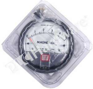 New Dwyer 2005 Series 2000 Magnehelic Positive Pressure Air Gauge 0 5 Of Water