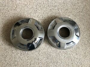 2 1980 s 1990 s 3 4 Ton Ford Truck Dog Dish Hubcaps For 4x4