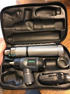 Welch Allyn Diagnostic Set With Otoscope And Opthalmmoscope Rechargeable Handle