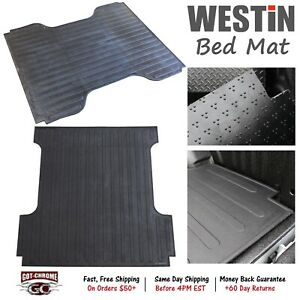 50 6125 Westin Rubber Truck Bed Mat Liner Ford Super Duty 6 9 Bed 1999 2016