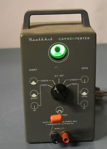 Heathkit Ct 1 Capacitor Tester eye Tube