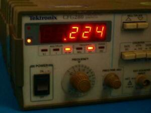 Tektronix Cfg280 11mhz Function Generator W o Handle