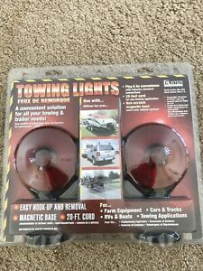 Custer Products Magnetic Base Heavy Duty Towing Lights