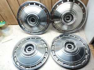 4 Oem 1964 Chevy Corvair Monza 900 Wheel Covers Hubcap 13 Inch Cover