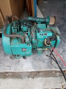 Onan 4 0 Rv Genset B f 3cr 16002b Gas 120v Ph 1 Sold As Is Parts Or Repair